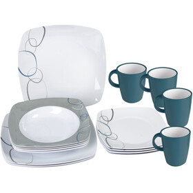 Brunner Melamine Set de platos, design cascade